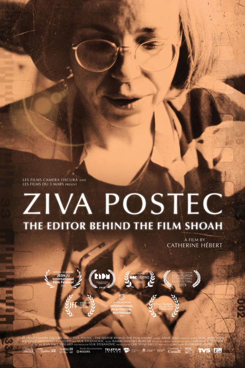 Ziva Postec The Editor Behind The Film Shoah Les Films Du