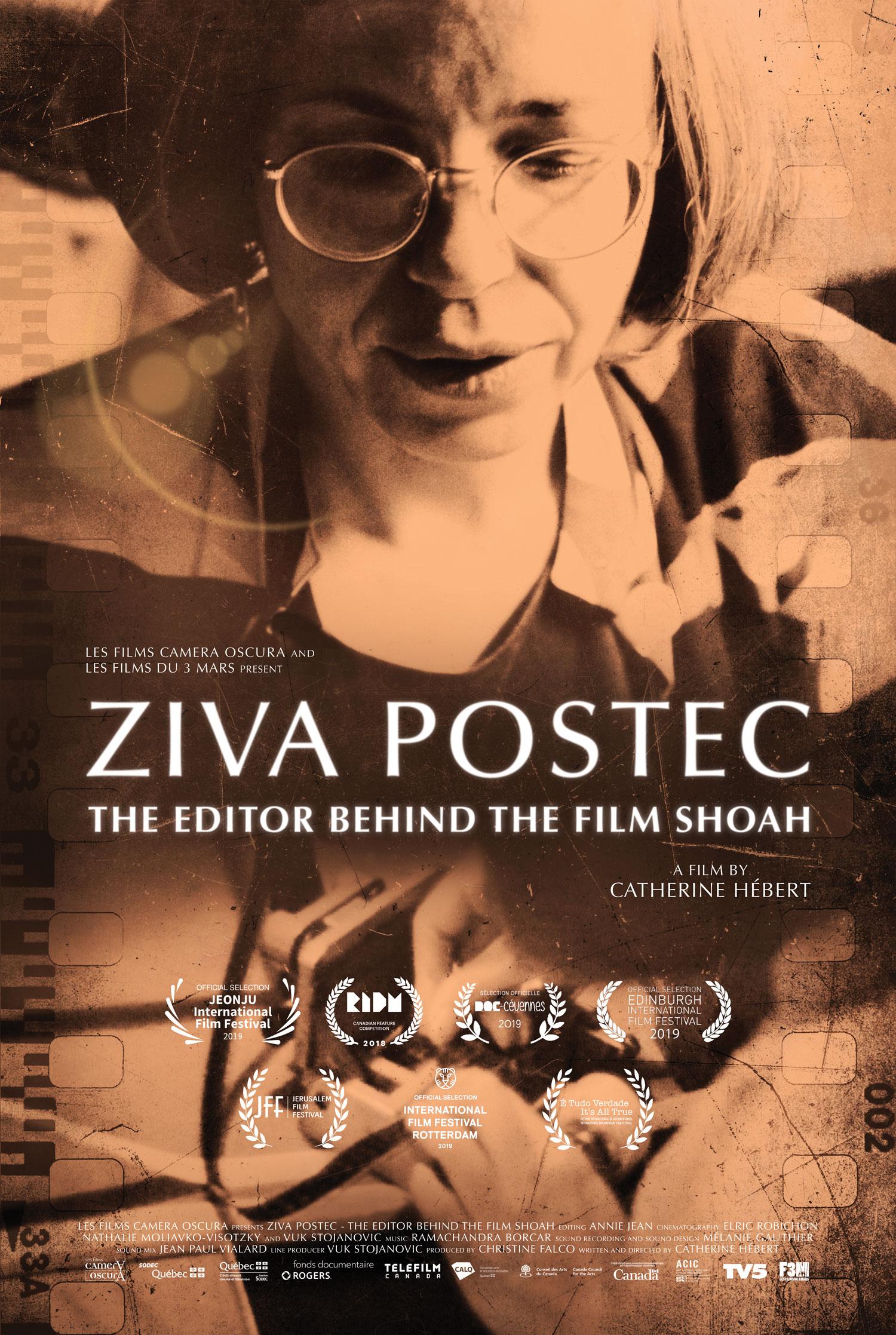 ZIVA POSTEC, The Editor Behind The Film Shoah - Les Films du 3 Mars